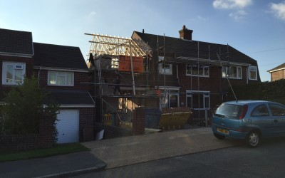 A two-storey extension for a Plymouth family home